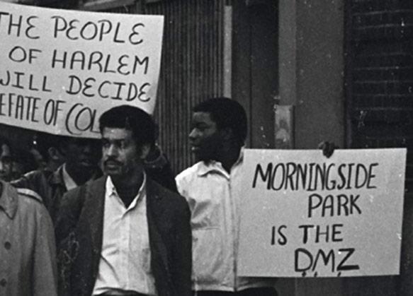 Columbia 5 harlem protest