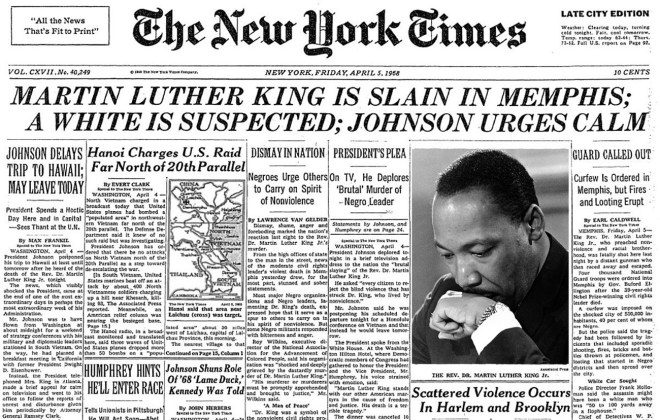 Martin-Luther-King-Assassinted-New-York-Times-April-5-1968